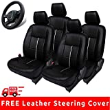 Ford Figo New Seat Cover with Stitchable Steering Wheel Cover (Autofact Brand)