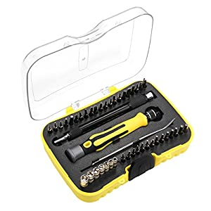 Screwdriver Set, Ankier 43 in 1 Magnetic Electronics Repair Tool Kits for iPhone 7 Plus, iPad Tablets, MacBook, PC, Smartphones, Watches, Glasses with Case