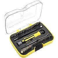 Juego de destornilladores Ankier. 43brocas en 1 herramienta electrónica y magnética de reparación, para iPhone 7 Plus, iPad Tablets, MacBook, PC, Smartphones, relojes y gafas con estuche