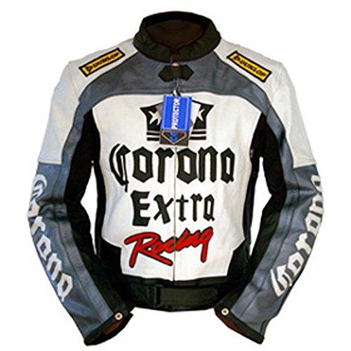 4LIMIT Sports Biker Motorradjacke Corona Lederjacke Motorrad Leder Jacke