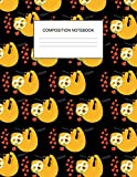 Composition Notebook: Cute Sloth Wide Ruled Composition Notebook for Kids, Students, Teachers & Office, Large Lined Journal