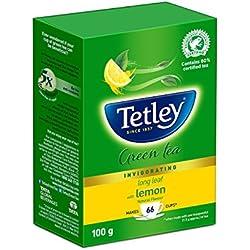 Tetley Long Leaf Green Tea, Lemon, 100g