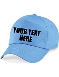 Direct 23 Ltd Personalised Printed Baseball Cap