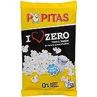 Popitas - Palomitas Zero para Micoondas, Sin Grasas Añadidas - Bolsa de 70 Gramos.