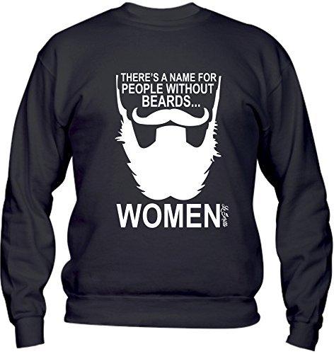 Social Crazy Herren T-Shirt schwarz schwarz L (T-shirts Barba Männer)