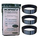 Originali Kirby MICRON MAGIC filtro HEPA - filtro sacchetti 9 pacchetto + 3 piani Serie strisce G6 - G7 Ultimate (197301 + 301291)