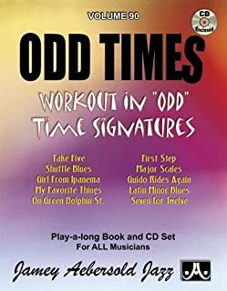 "Odd Times - Volume 90 - Workout in ""ODD"" Time Signatures (1562242490) 