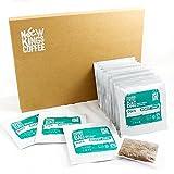 Bolsas de café recién molidas - Fairtrade, orgánico, único origen, 100% arábica (Dark Roast - Sumatra, Indonesia, SE Asia, Caja de 16 bolsas de café envueltas individualment)