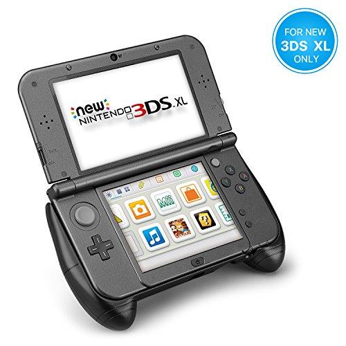 TNP Handgriff Schutzhülle für Nintendo 3DS XL LL 2015 Modell (ergonomisch, komfortabel, rutschfester Griff, mit Ständer)