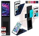 Hülle für Medion Life X5020 Tasche Cover Case Bumper | Blau | Testsieger