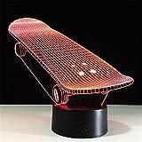 SASA 3D Nachtlicht Roller Bunt Fernbedienung LED Lichter Seltsame
