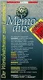 Memodux. Cursus Continuus A/ B. Cursus Brevis. CD- ROM für Windows 95/98/ MacOS ab 7.6. - Peter Lowin, Moritz Uibel, Wolfgang Wagner, Wolfram von der Weiden, Guido Wojaczek