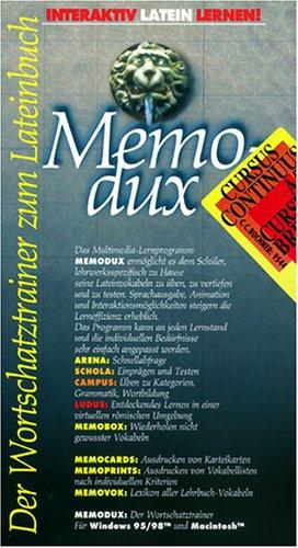 Preisvergleich Produktbild Memodux. Cursus Continuus A / B. Cursus Brevis. CD- ROM für Windows 95 / 98 / MacOS ab 7.6.