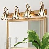 baby Q Lampes pour miroir Miroir Lumière Lampe Avant Miroir Lampe Salle de Bains Mur Lampe Armoire Lumière , 4