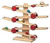 FAGUS Holzspielzeug - Kugelbahn - 019.010 - FAGUS Holzspielwaren Made in Germany, liebevoll von Menschen mit Behinderung gefertigt