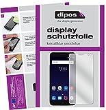 dipos I 6X Schutzfolie klar passend für ZTE Blade V7 Plus Folie Displayschutzfolie