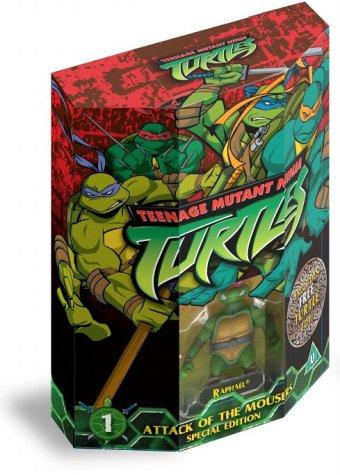 Teenage Mutant Ninja Turtles - Volume 1 (Giftpack) [VHS]