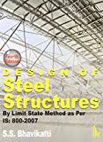Until recently the working stress method was used for the design of steel structures. This has now been replaced by the more rational limit state method. The Indian national code IS:800 for the design of steel structures was revised in 2007 to incorp...