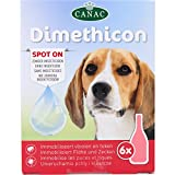"DIMETHICON - Pipette Anti-zecche e Anti-pulce ""Spot On"" per cani, pipette x 6"