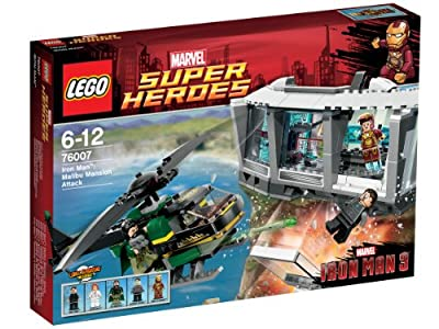 LEGO Super Heroes - Iron Man: Malibu Mansion Attack, pack de figuras de acción (LEGO 76007) por LEGO