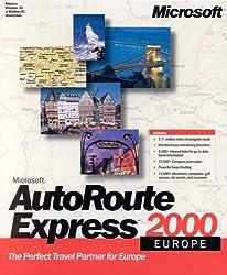 Microsoft Autoroute Express 2000 Europe