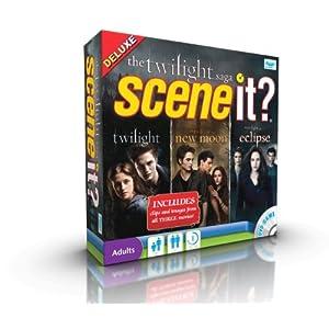 Scene It Twilight Saga – Juego de mesa con DVD, saga Crepúsculo [importado de Reino Unido]