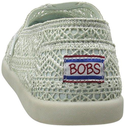 Bobs De Skechers Bobs mondiale Slip-on Flat Menthe