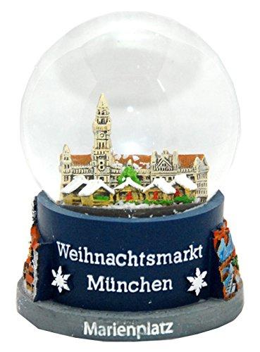 Souvenir Schneekugel Weihnachtsmarkt München - 30021