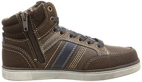 Dockers by Gerli 37CR701, Chaussures de sports extérieurs garçon Marron (Braun 300)