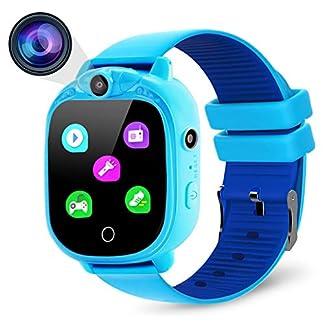 PROGRACE Reloj Inteligente para cámara Digital para niños con Juegos
