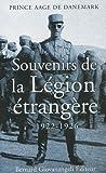 Souvenirs de la Légion