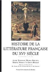 Histoire de la littérature française du XVIe siècle
