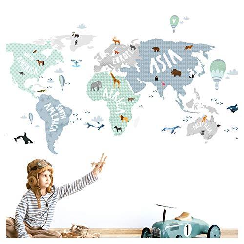 Euroart Weltkarte II