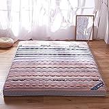 Verdicken sie Bett matratze Leicht Bekleidet pad Gesteppt, Tatami-matratze Anti-rutsch Japanischen boden futon-matratze Folding Roll-up Matratzenschoner Wohnheim Atmungsaktive-D 90x200cm(35x79inch)
