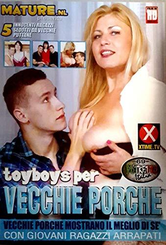Sex DVD Toyboys per vecchie porche MATURE DISTRETTO ITALIA 160