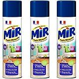 Mir Tapis Moquette - Nettoyant Tapis et Moquettes - Spray Mousse 600 ml - Lot de 3