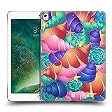 Head Case Designs Strombo Luminoso Conchiglie Cover Retro Rigida per iPad Pro 12.9 (2017)