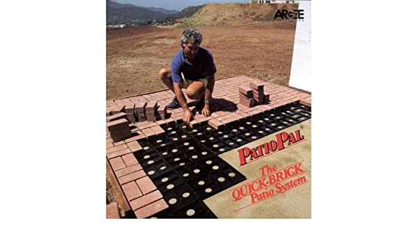 Argee Corp RG191 3.88 In. X 8 In. Patio Pal Brick Laying Guides:  Amazon.co.uk: Garden U0026 Outdoors