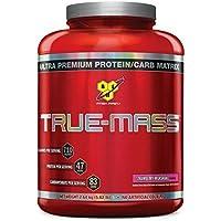 BSN True Mass Protéine Fraise 2.64kg