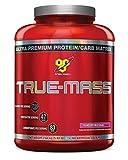 BSN True Mass Gainer Powder, 2.64 kg - Strawberry Milkshake