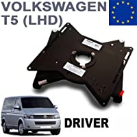 RIB - Base giratoria para asiento de conductor, se ajusta a normativa europea, para furgoneta VW T5 / T6.