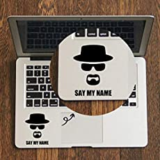 GADGETS WRAP Breaking Bad Vinyl Trackpad Decal for MacBook Air Pro Retina 11 12 13 15 inch HP Mac Surface Book Touchpad Skin Laptop Sticker