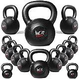 4kg 6kg 8kg 10kg 12kg 16kg 20kg 24kg 28kg30kg 32kg 36kg And 40kg Cast Iron Kettlebell Gym Tone Fitness Exercise