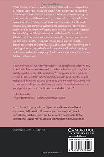 Causation in International Relations: Reclaiming Causal Analysis (Cambridge Studies in International Relations)