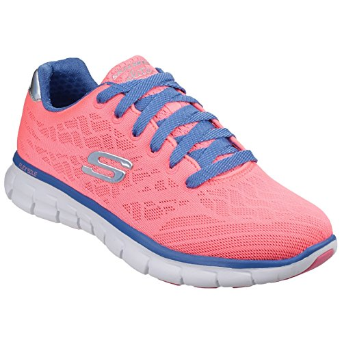 Skechers - Synergy-Moonlight Madness, Sneakers da donna Rosa/Viola