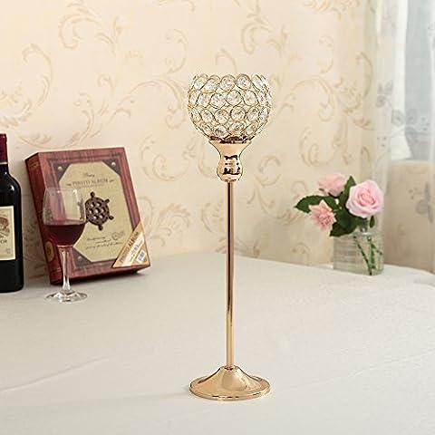 Lanterne bougie vincigant en cristal de décoration pour Noël