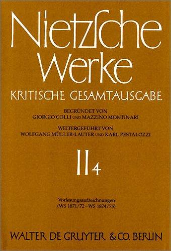 Nietzsche Werke: 2 por Friedrich Nietzsche