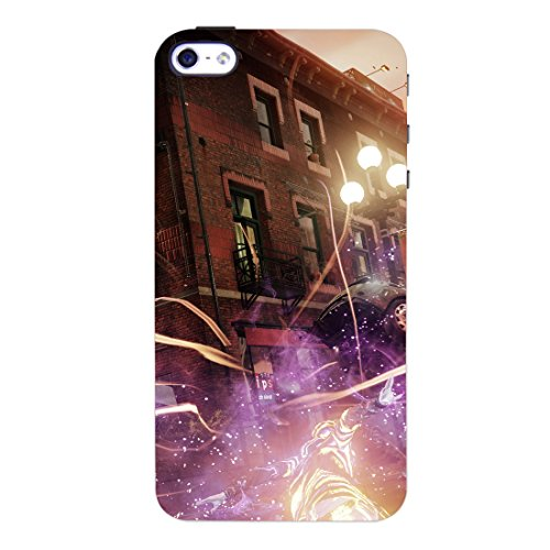 The Stubborne Infamous Second Son and First Light Sd 3D Printed Mobile Cover-Case  available at amazon for Rs.379
