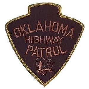 FindingKing Oklahoma Highway Patrol Patch 7.62 cm
