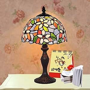 TILI 8 británica protección pulgadas Europea lámpara Tiffany ojos / adecuado para cama dormitorio / estudio / sala de estar